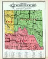 Allen, Lee and Four Mile Townships, Avon, Rising Sun, Carlisle, Polk County 1914